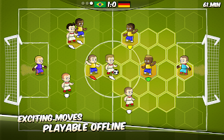 Football Clash - free turn based strategy soccer⚽️
