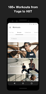 Nike Training Club – Home workouts & fitness plans (PREMIUM) 6.17.0 Apk 3