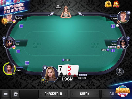 Poker World Mega Billions  screenshots 1