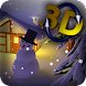 Winter Snow in Gyro 3D - Androidアプリ