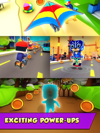 KIDDY RUN - Blocky 3D Running Games & Fun Games 1.04 screenshots 18