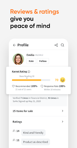 Karrot - Your local buying & selling community android2mod screenshots 6