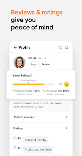 Karrot - Your local buying & selling community Screenshot