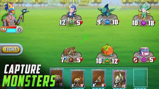 Monster Battles: TCG - Card Duel Game. Free CCG screenshots 10