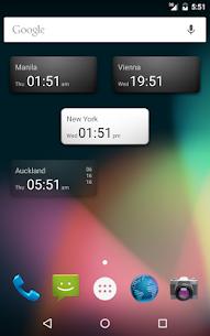 World Clock Widget 1.1.4 Mod + Data for Android 1
