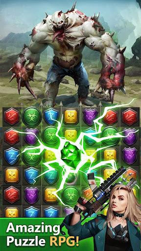 Zombies & Puzzles: RPG Match 3 screenshots 2