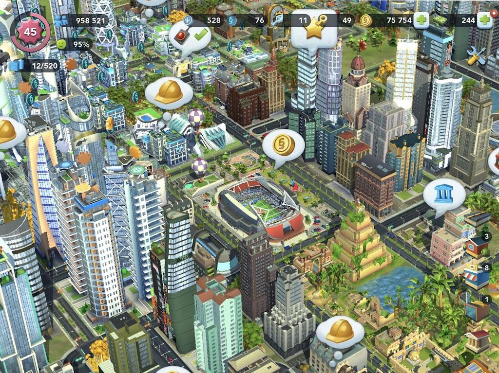 SimCity BuildIt  poster 6