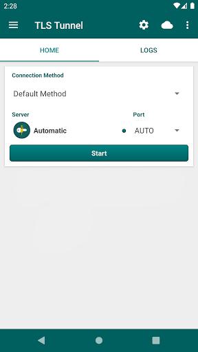 TLS Tunnel - Free and Unlimited VPN  screenshots 1