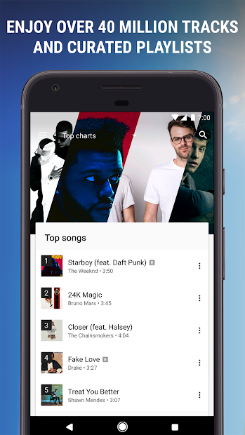 Google Play Music screenshot 3
