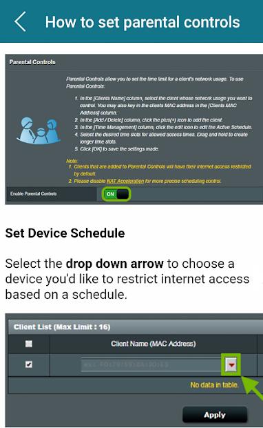 Imágen 7 de Asus Modem Router Guide para android