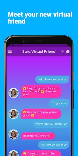 Sara Virtual Friend apktram screenshots 3