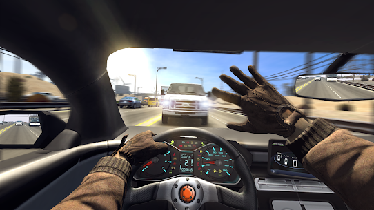 Traffic Tour- Traffic Rider & Car Racer game 8