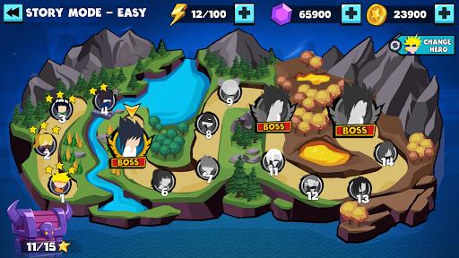 Stickman Shinobi : Ninja Fighting 2.2 screenshots 4