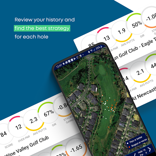 Golf GPS Rangefinder: Golf Pad android2mod screenshots 8