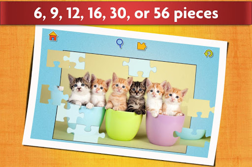 Cats Jigsaw Puzzles Games - For Kids & Adults ud83dude3aud83eudde9 screenshots 3