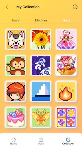 Happy Pixel Puzzle: Free Fun Coloring Logic Game filehippodl screenshot 5