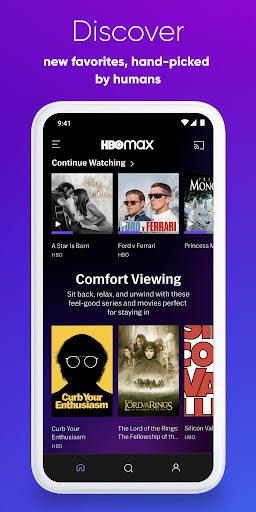 HBO Max: Stream HBO, TV, Movies & More 50.3.0.369 Screenshots 3
