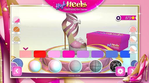 High Heels Designer Girl Games  screenshots 3