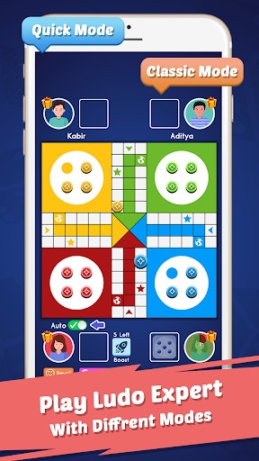 Ludo Expert: Online Dice Board Ludo & Voice Chat 1.5 screenshots 2
