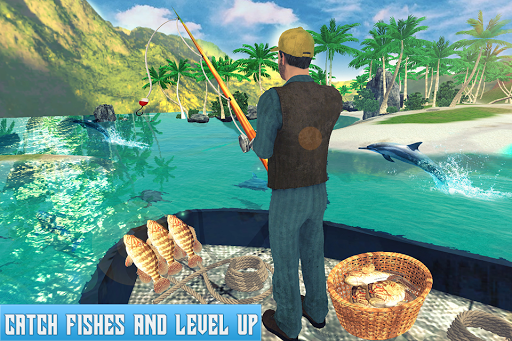 Boat Fishing Simulator: Salmon Wild Fish Hunting 1.5 screenshots 5