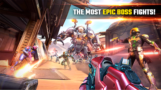SHADOWGUN LEGENDS - FPS and PvP Multiplayer games Unlimited Money