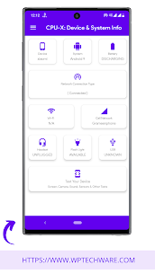 CPU-X: Device & System Information 1.0 Mod APK Updated 2