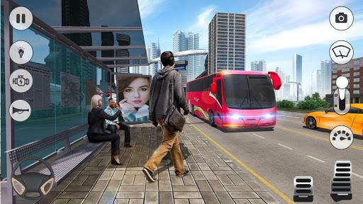 Bus Games - Coach Bus Simulator 2021, Free Games 1.0.8 screenshots 3