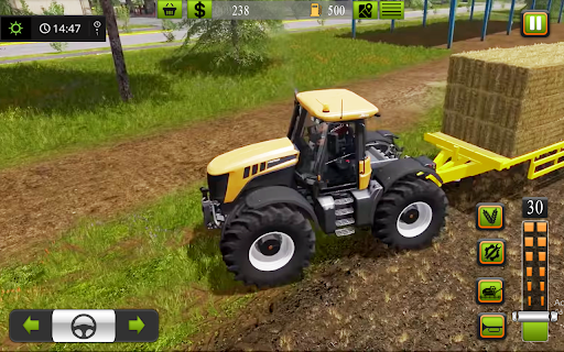 Supreme tractor farming - modern farm games 2021  screenshots 16