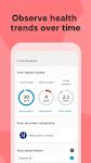 screenshot of Clue Period Tracker, Cycle & Ovulation Calendar