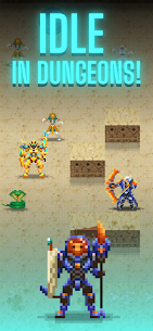 Dunidle: Pixel RPG Idle 8 Bit 2D AFK Dungeon Games Mod Apk 6.2 (A Large Number of Currencies) 2