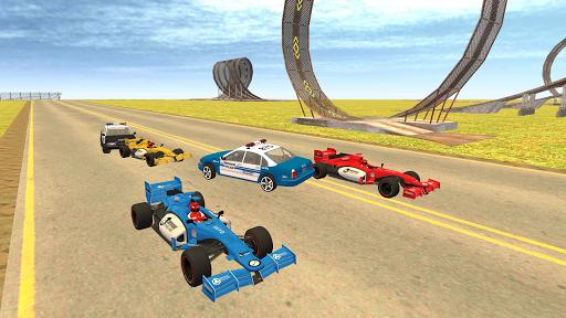 Formula Car Racing u2013 Police Chase Game 1.20 screenshots 9