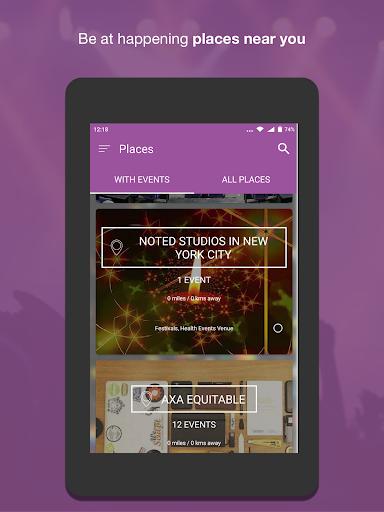 Nearify - Discover Events 9.2 Screenshots 15