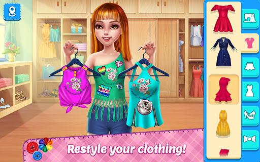 DIY Fashion Star - Design Hacks Clothing Game 1.2.7 Screenshots 1