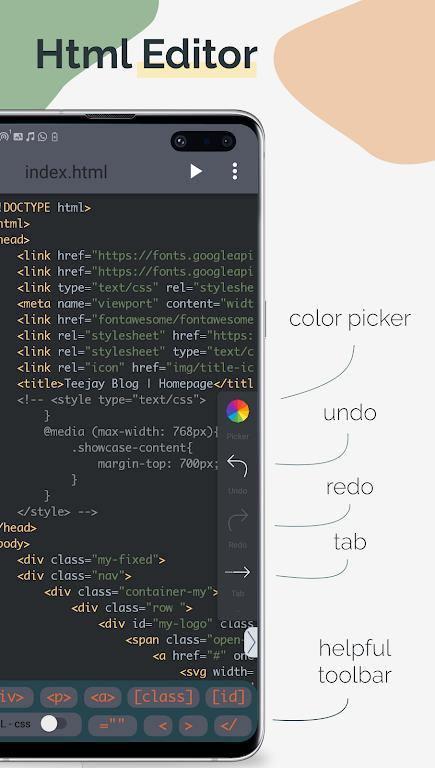 TrebEdit - Mobile HTML Editor  poster 0