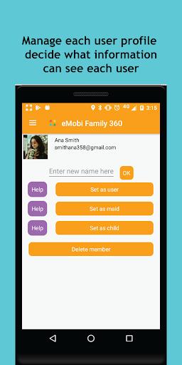 Family Locator GPS Tracker Child - Chat - ToDo 360  Screenshots 16