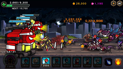 HERO WARS: Super Stickman Defense 1.1.0 screenshots 8