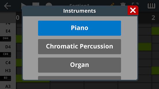 Music Creator Screenshot