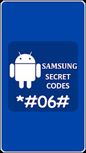 Secret Codes for Samsung Mobile 1.0