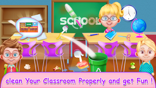 My School Teacher Classroom Fun apkpoly screenshots 3