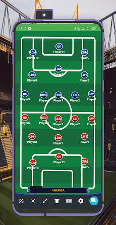 Lineup11: Football Tactics Boardのおすすめ画像1
