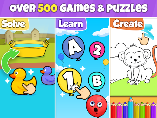 Toddler learning games for kids: 2,3,4 year olds screenshots 11