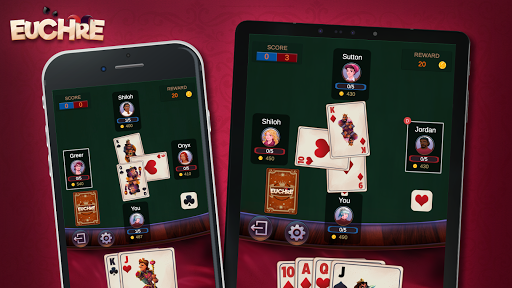 Euchre - Free Offline Card Games 1.1.9.6 screenshots 7