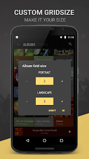 BlackPlayer EX Music Player Varies with device screenshots {n} 4