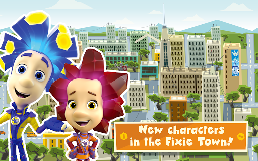 The Fixies Town Games for Kids! Girl and Boy Games screenshots 8