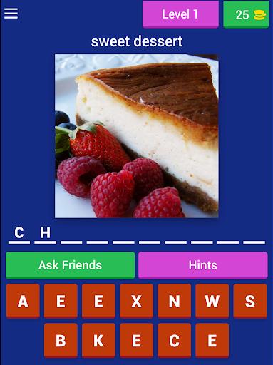 Foodie Dessert Quiz (Food Quiz Game)  screenshots 5