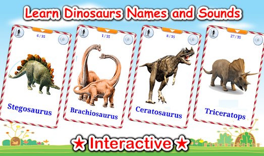 Dinosaurs Cards (Dino Game)