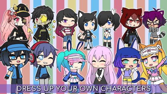 Gacha Life MOD APK for PC, Android, iPhone 2021 3