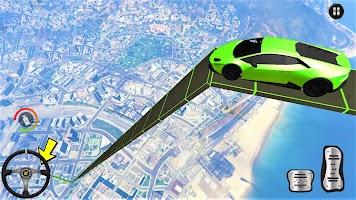 Car Stunts Mega Ramp - New Car Racing Games 2021
