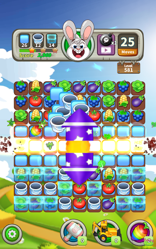 Farm Raid : Cartoon Match 3 Puzzle  screenshots 19