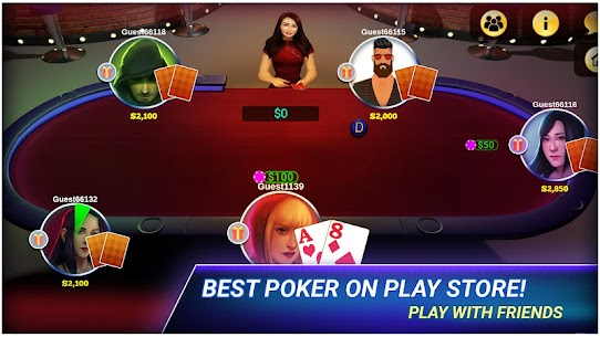Poker Offline MOD (Unlimited Chips/Money) 2